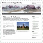 Gladhammars hemsida